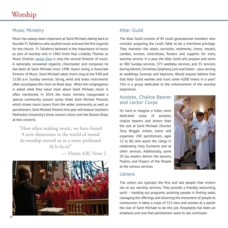 Parish Profile - Saint Michael and All Angels Episcopal