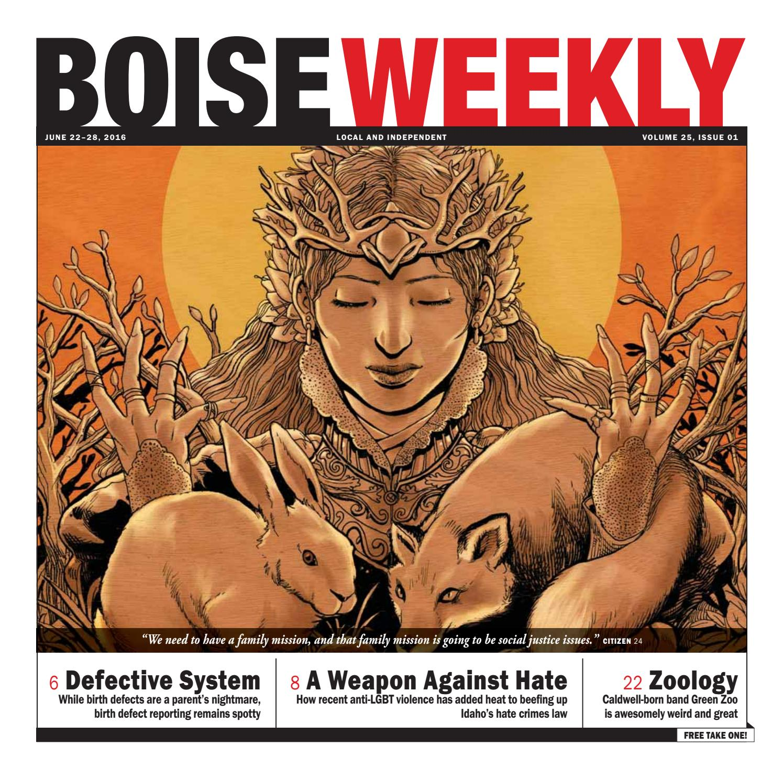 Boise Weekly Vol.25 Issue 01 by Boise Weekly - issuu
