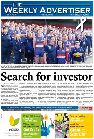 3c5138dff The Weekly Advertiser - Wednesday