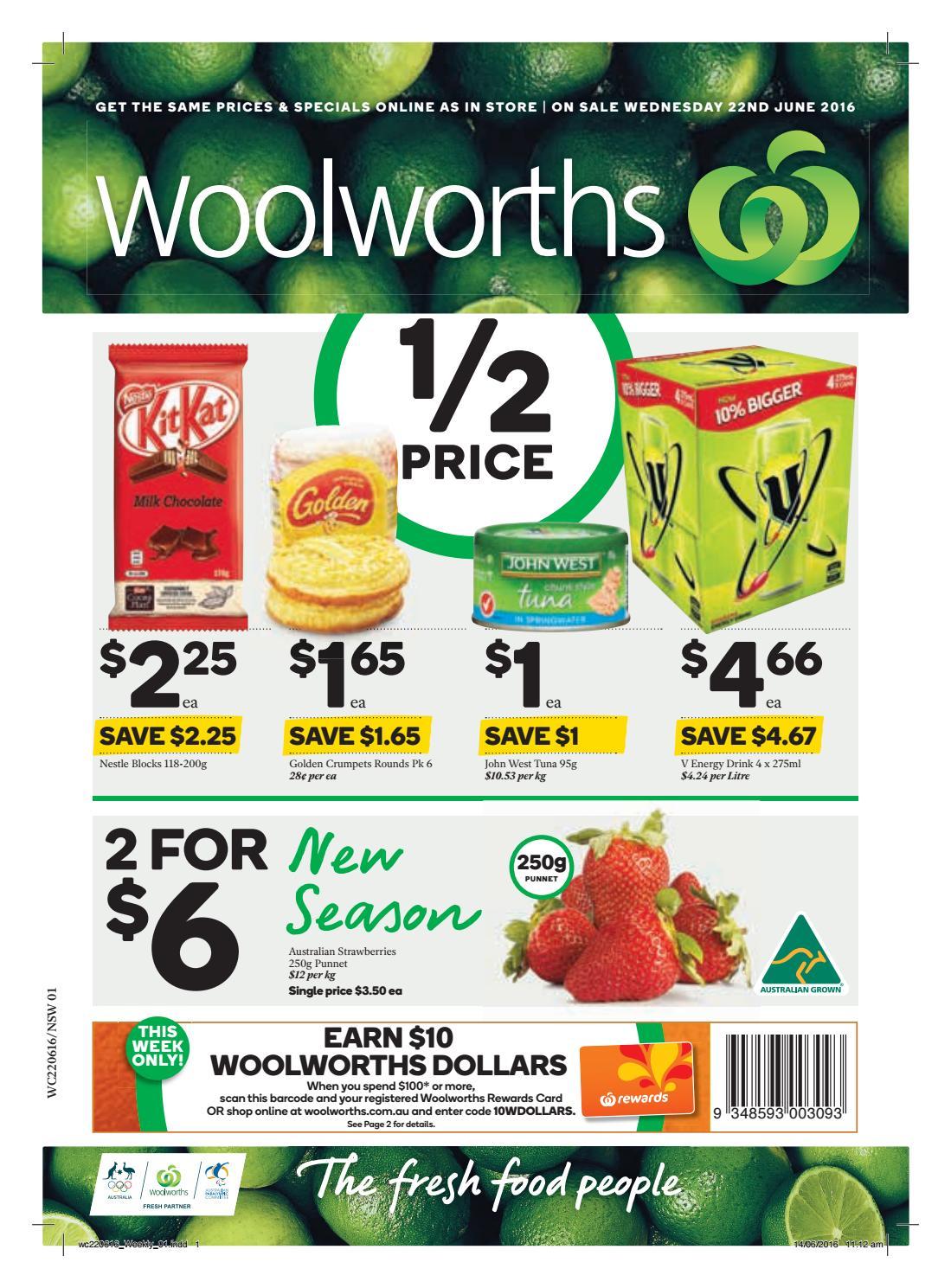 Nsw Woolworths 22 06 16 28 06 16 By Hojunara Issuu