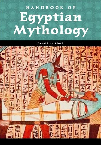 Handbookofegyptianmythologygeraldinepinch by hyacintha issuu handbook of egyptian mythology fandeluxe Choice Image