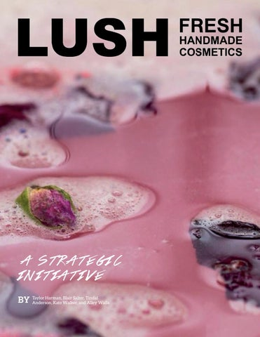 lush promotion strategy