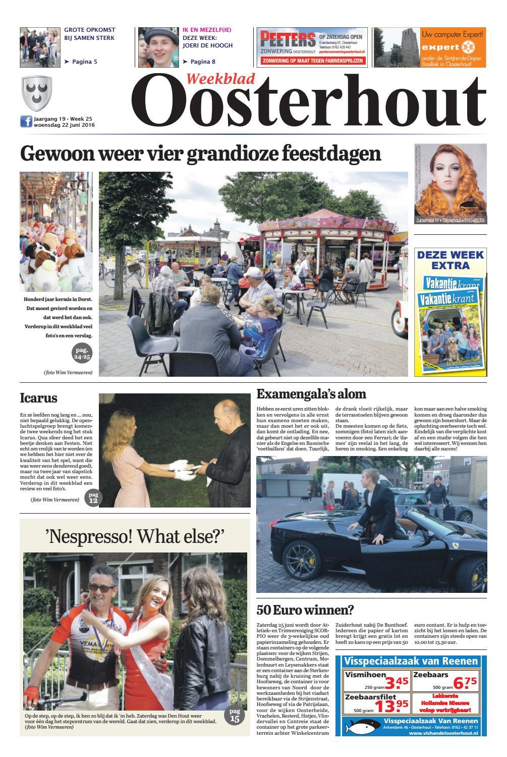 Weekblad oosterhout 22 06 2016 by uitgeverij em de jong for Nassau indus deur bv oosterhout