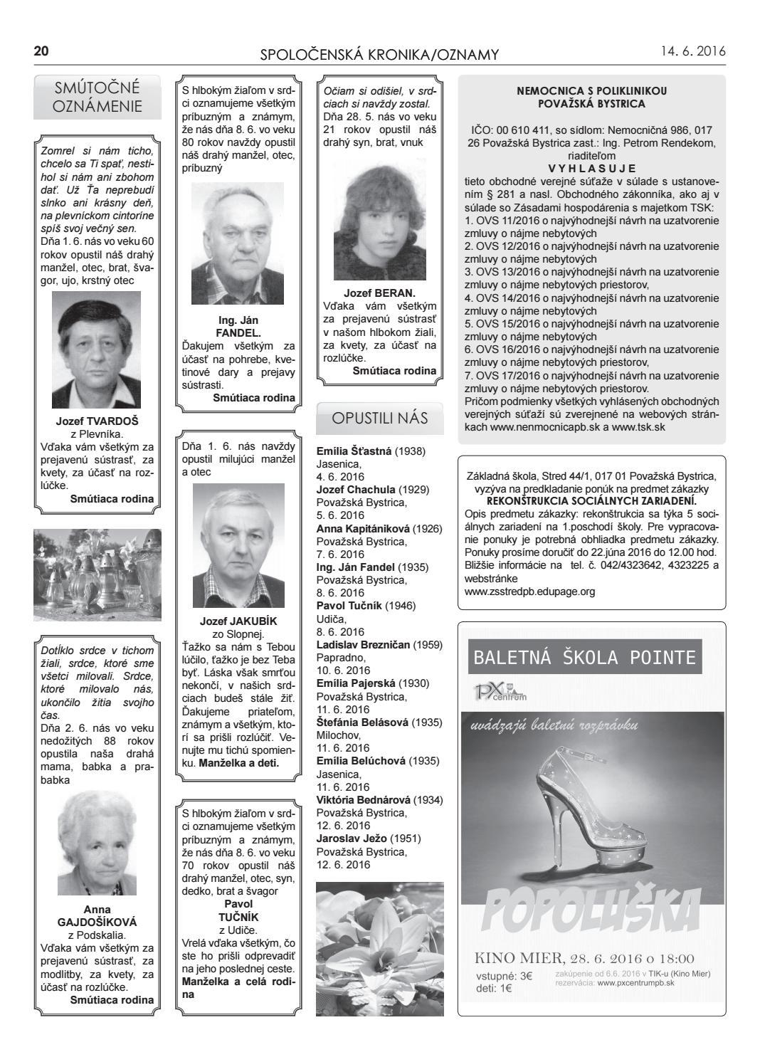 4503af01a Považskobystrické novinky č. 24/2016 by Považskobystrické novinky - issuu