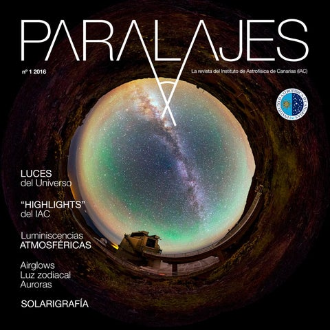 Paralajes N 1 2016 Luces Del Universo By Uc3 Instituto De