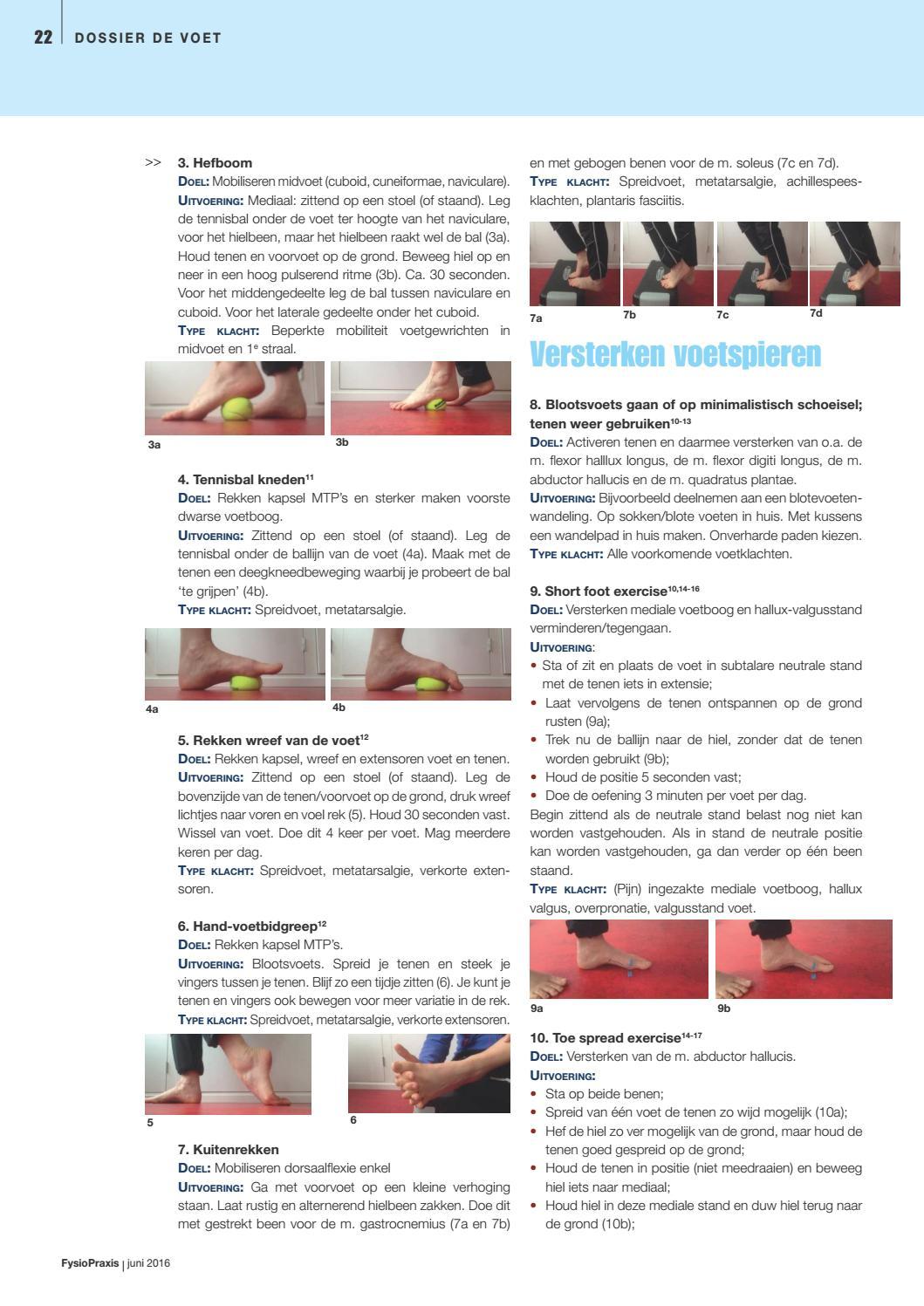 FysioPraxis juni 2016 by KNGF de Fysiotherapeut - issuu