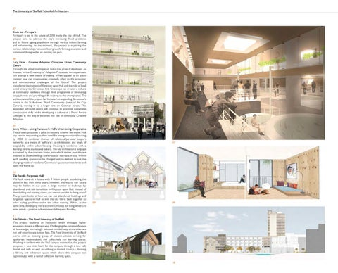 The University Of Sheffield School Of Architecture