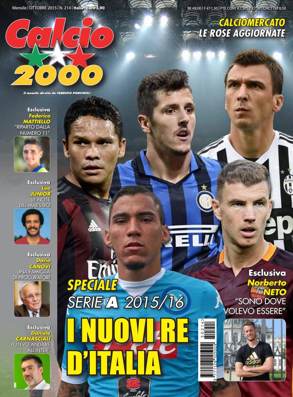 Calcio2000 n. 214 by TC C SRL - issuu d635573570d