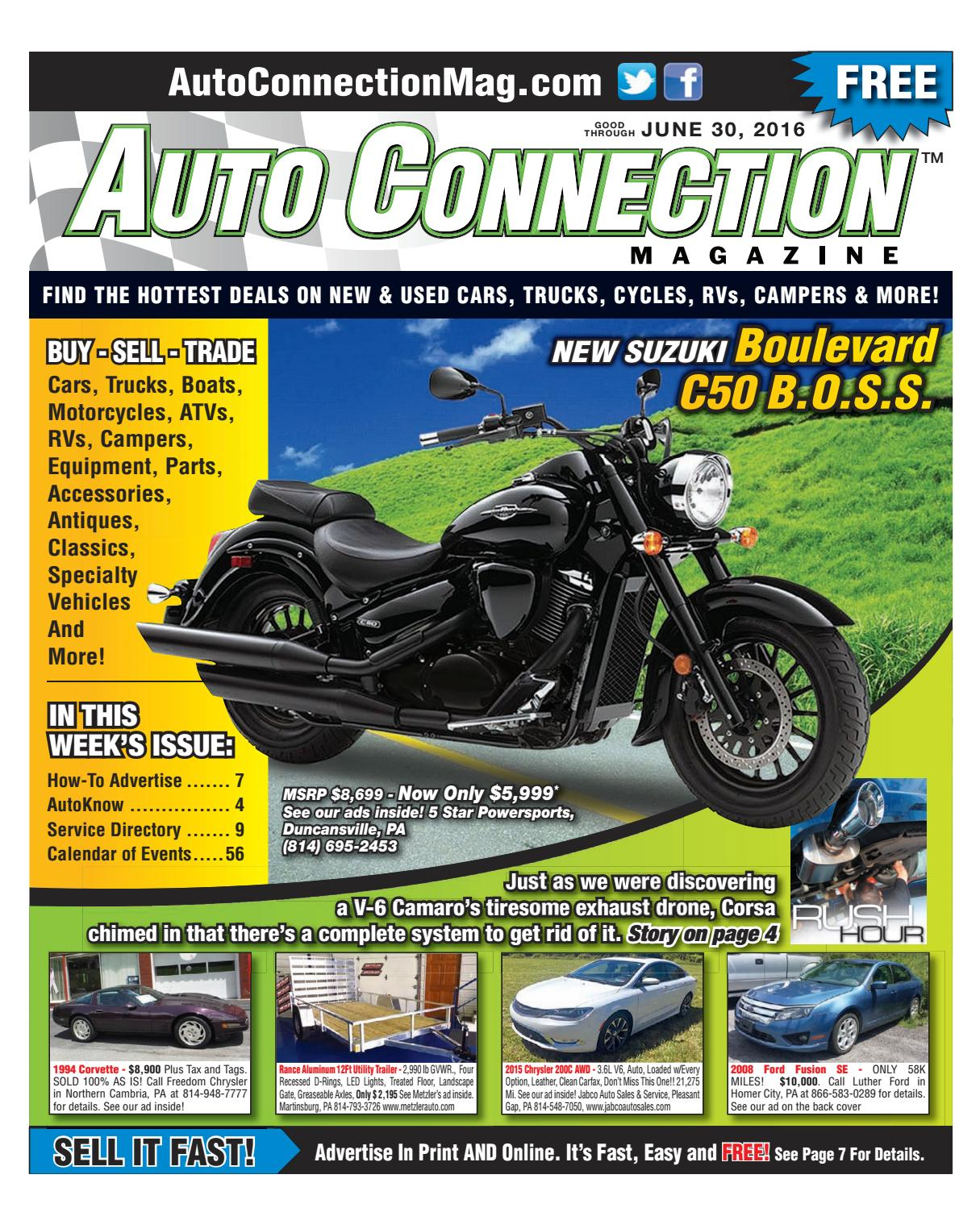 06 30 16 Auto Connection Magazine By Issuu 24v Trolling Motor General Discussion Forum Indepth Outdoors
