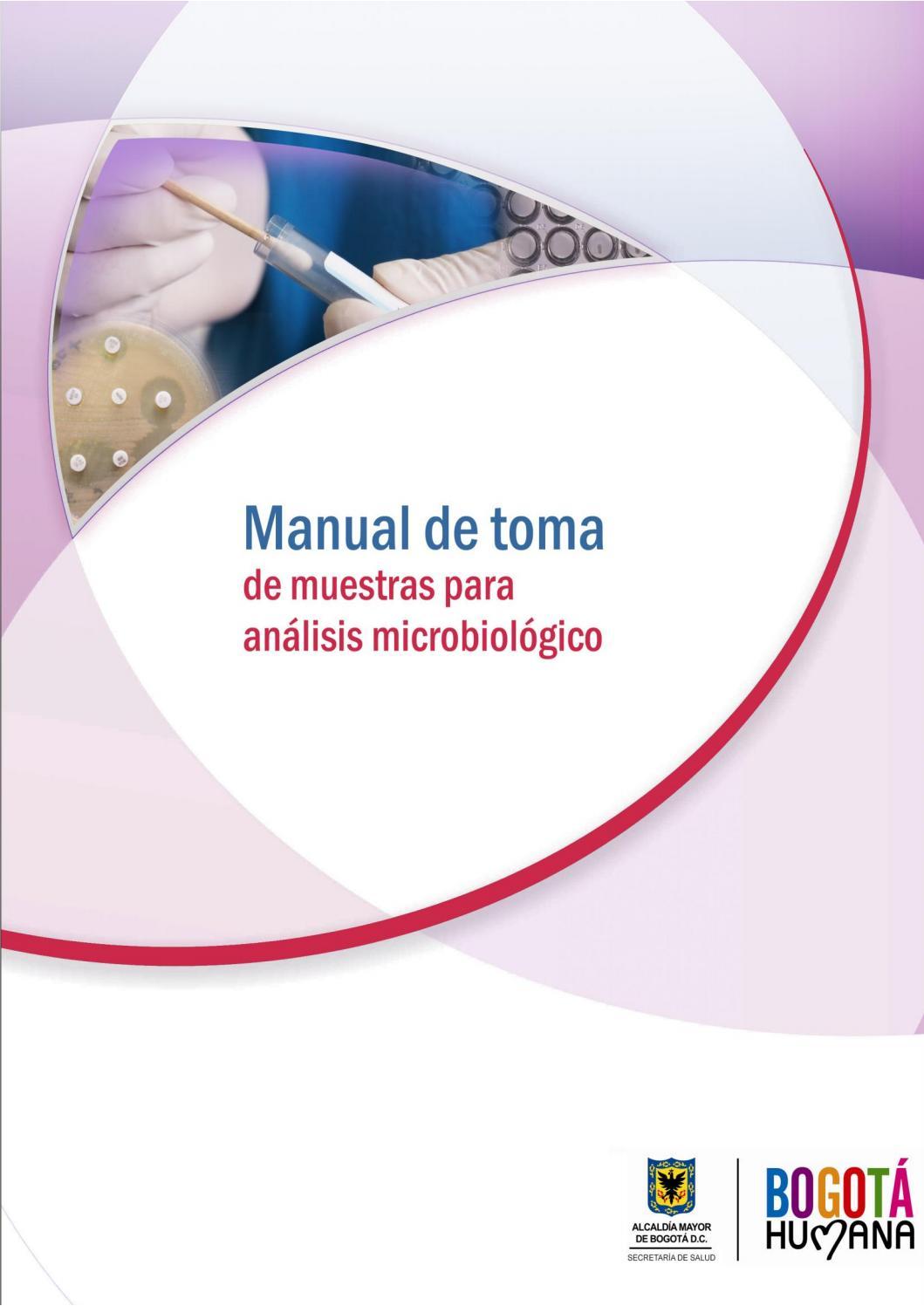 Manual toma de muestras para anàlisis microbiològico pdf 2015 by ...