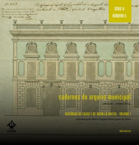 Cadernos do arquivo municipal histrias de casas e de quem l vive page 1 fandeluxe Gallery