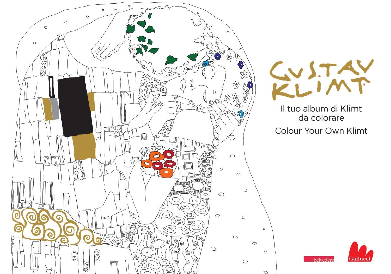 Gustav klimt il tuo album di klimt da colorare by carlo for Disegni cottage e planimetrie