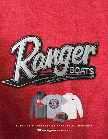 476404c5b02 Ranger Boats Summer 2016 Ranger Wear Catalog by Powertex Group - issuu