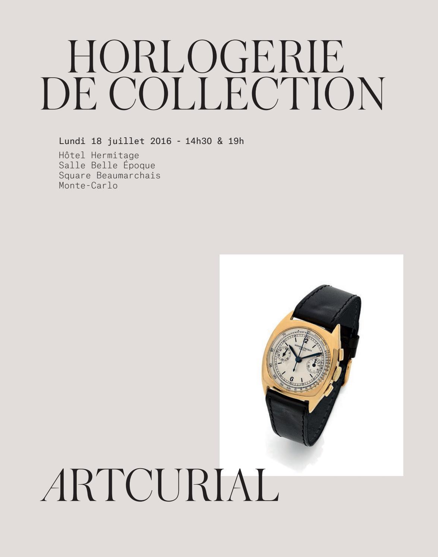 Horlogerie De Collection By Artcurial