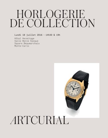 Horlogerie de collection by Artcurial - issuu a388f9a28021