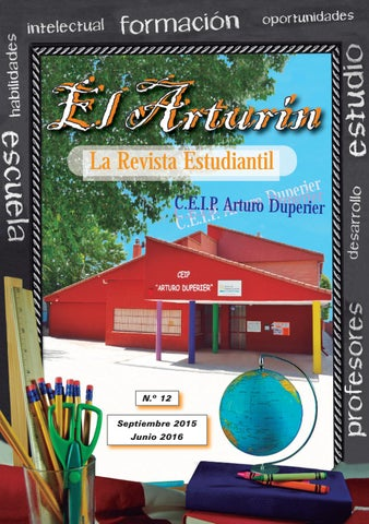 Revista Arturín 2015-16