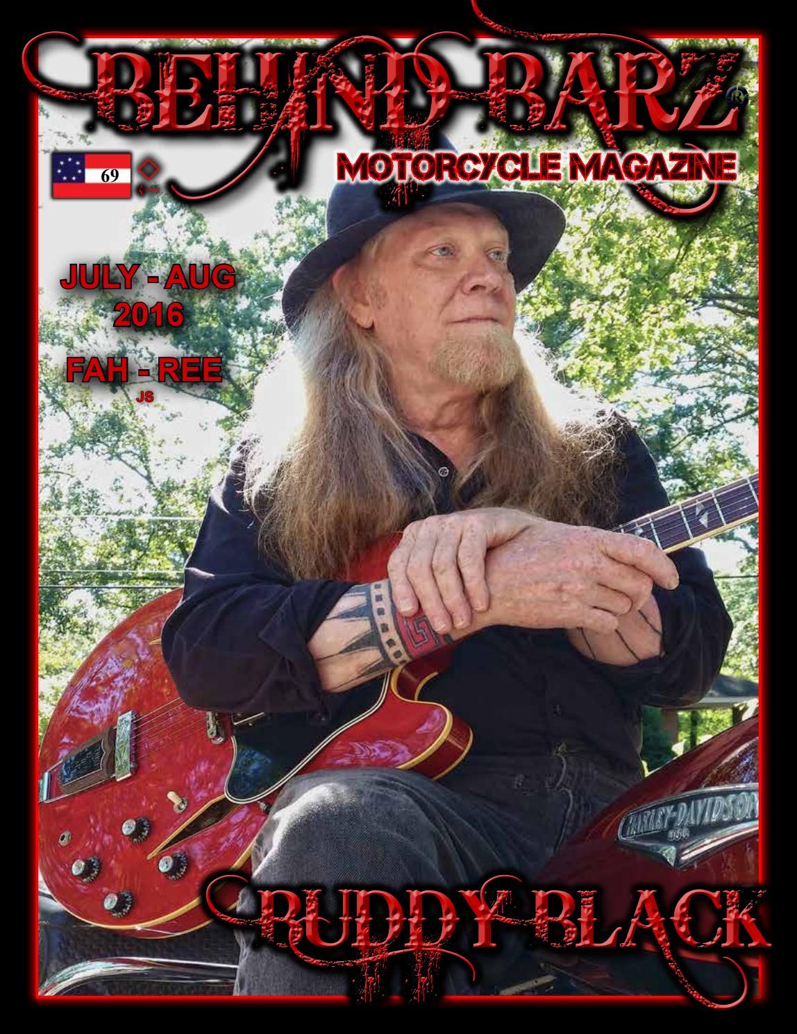 July-August 2016 Behind Barz Motorcycle Mag by Behind Barz