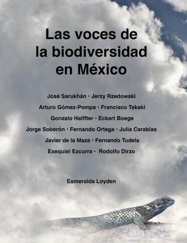 Las Voces De La Biodiversidad En Mxico By Esmeralda Loyden S Issuu