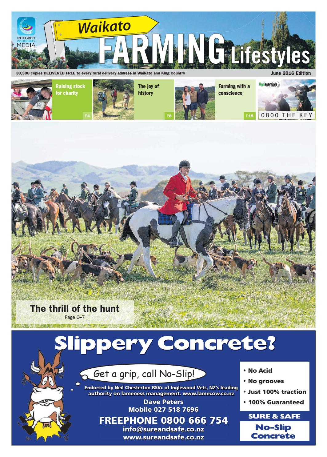 Waikato Farming Lifestyles, June 2016 by NorthSouth Multi Media Ltd - issuu