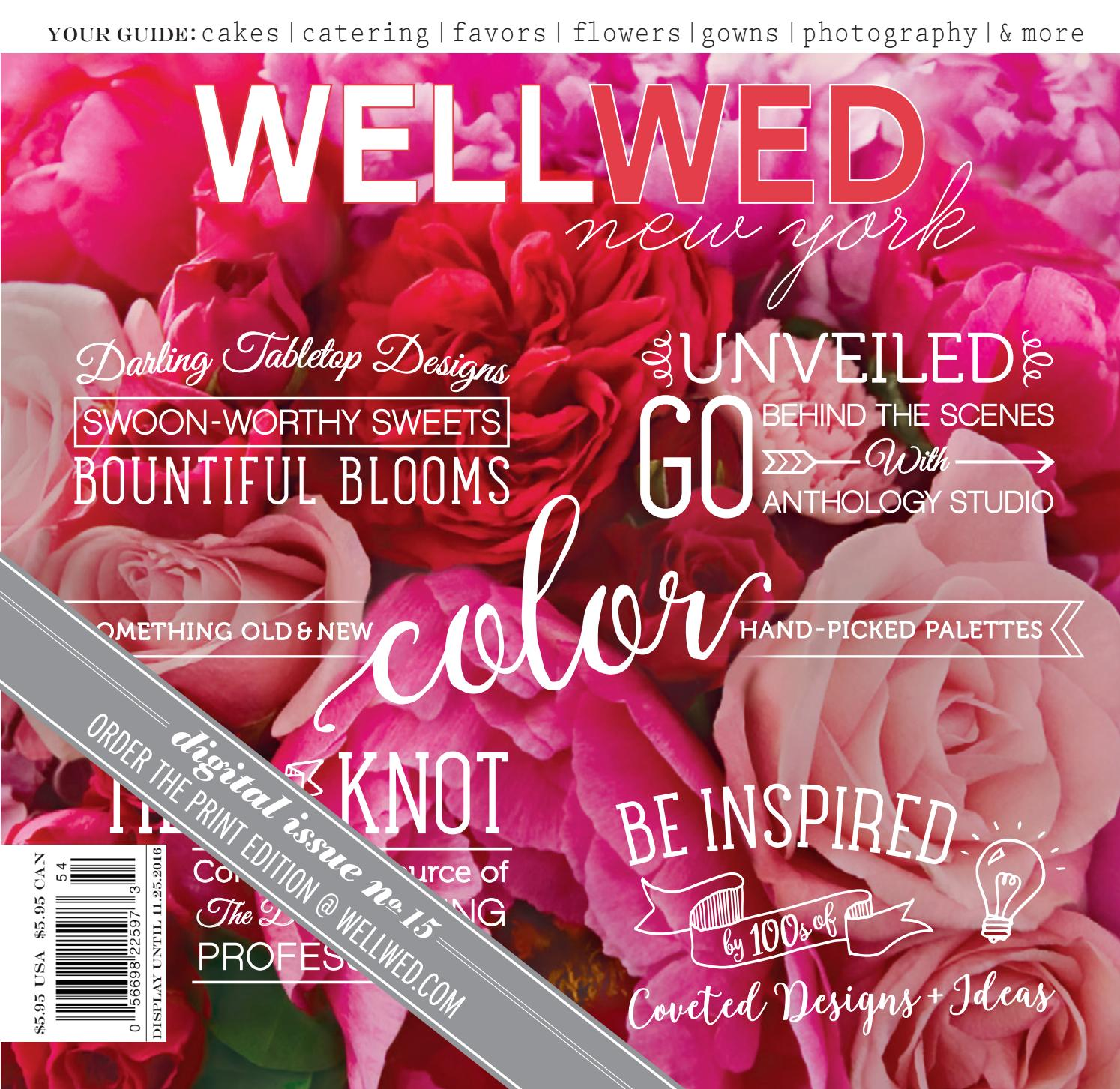 WellWed - New York [Issue No. 15] by Vermont Vows and WellWed ...