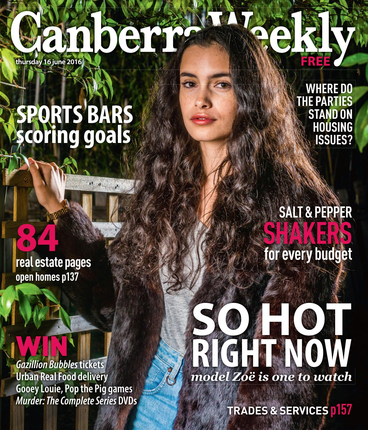 94682b8e19f 16 June 2016 by Canberra Weekly Magazine - issuu