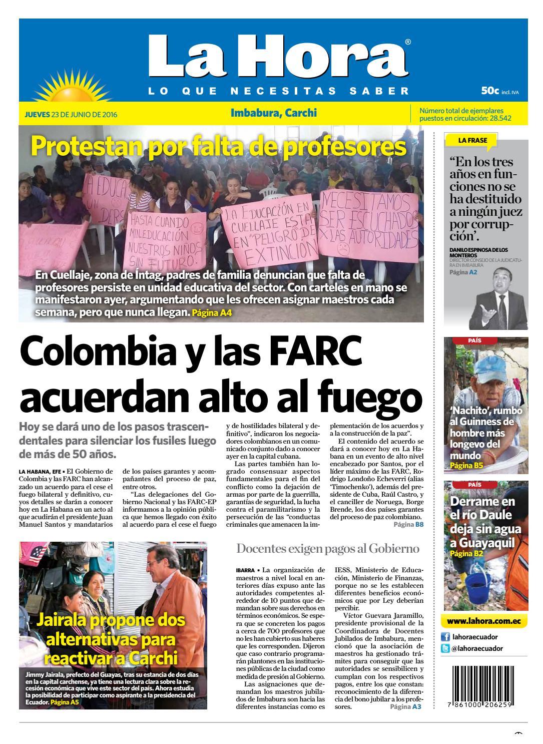 Niño de parbulo chica preparatoria porno Imbabura Carchi 23 De Junio 2016 By La Hora Ecuador Issuu