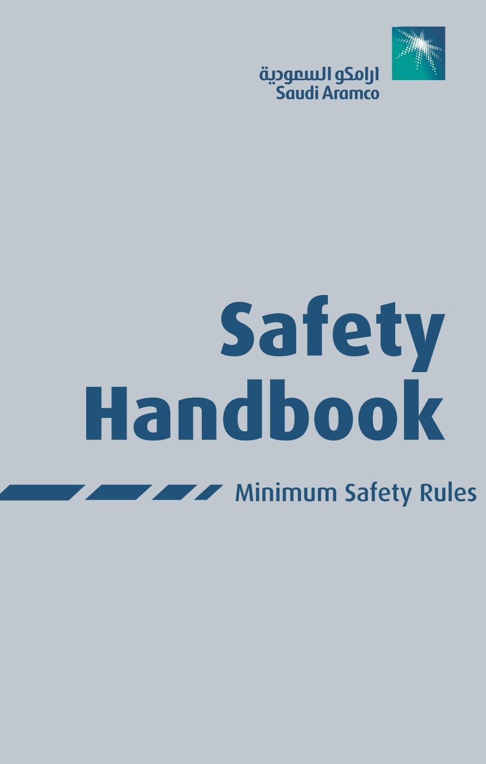 Saudi Aramco Safety Handbook By Khalid Issuu