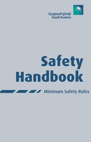Saudi Aramco Safety Handbook By Khalid Issuu