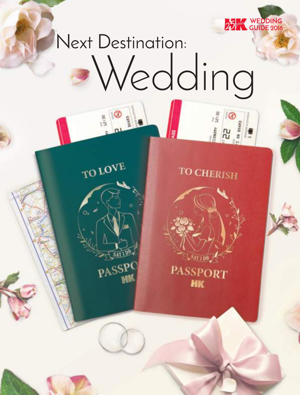 Wedding Guide 2016 by HK Magazine - issuu