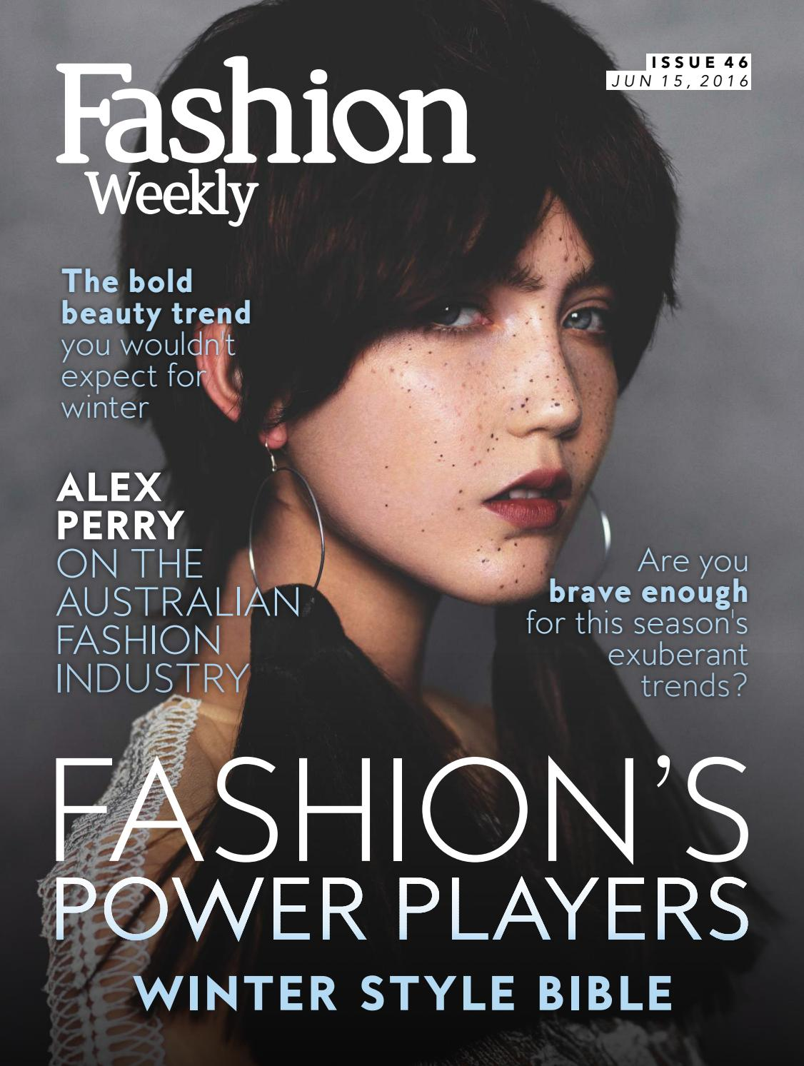 Fashion Weekly Magazine Issue 46 By Fashion Weekly Issuu