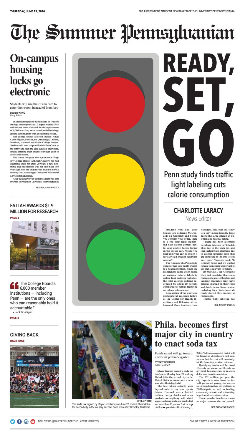 June 23, 2016 by The Daily Pennsylvanian - issuu