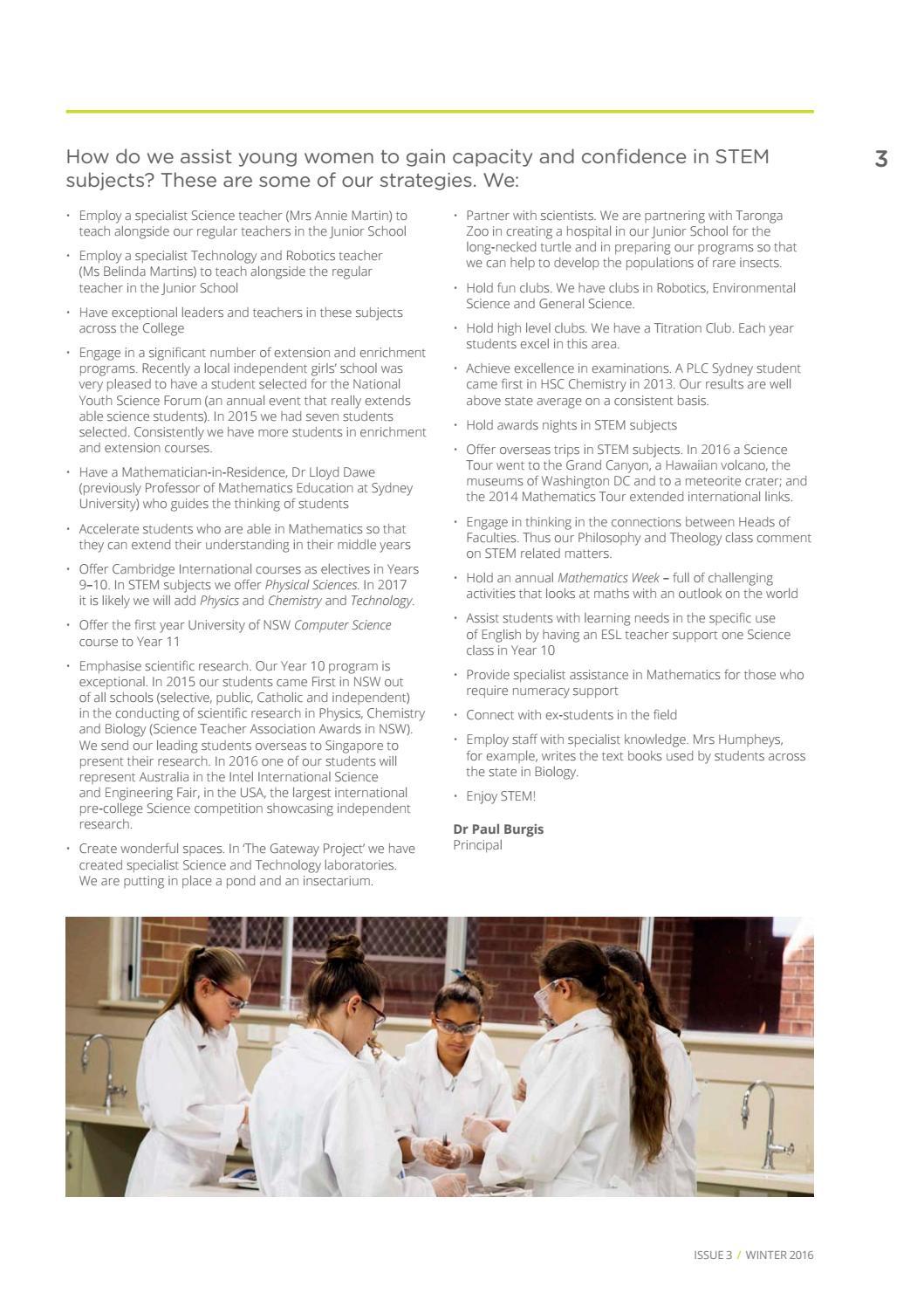 Camphora, Issue 3, Winter 2016 by PLC Sydney - issuu
