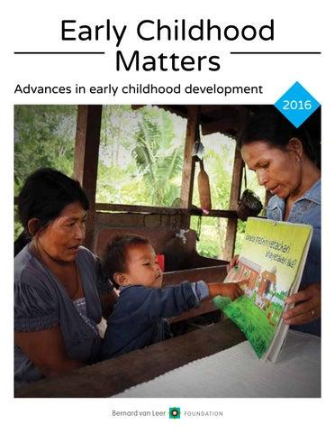 Early childhood matters 2016 by bernard van leer foundation issuu early childhood matters advances in early childhood development 2016 malvernweather Gallery