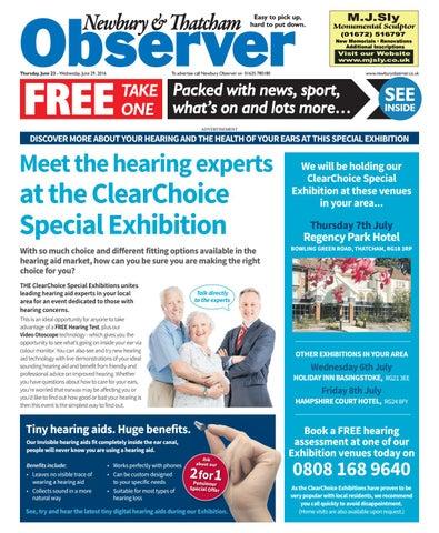 23 june 2016 newbury observer by Taylor Newspapers - issuu