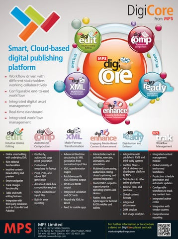 DigiCore: A Cloud-based digital publishing platform by Sam
