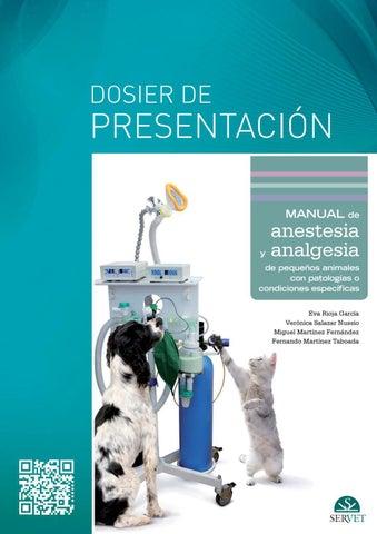 Manual de anestesia y analgesia de pequeños animales con patologías ...