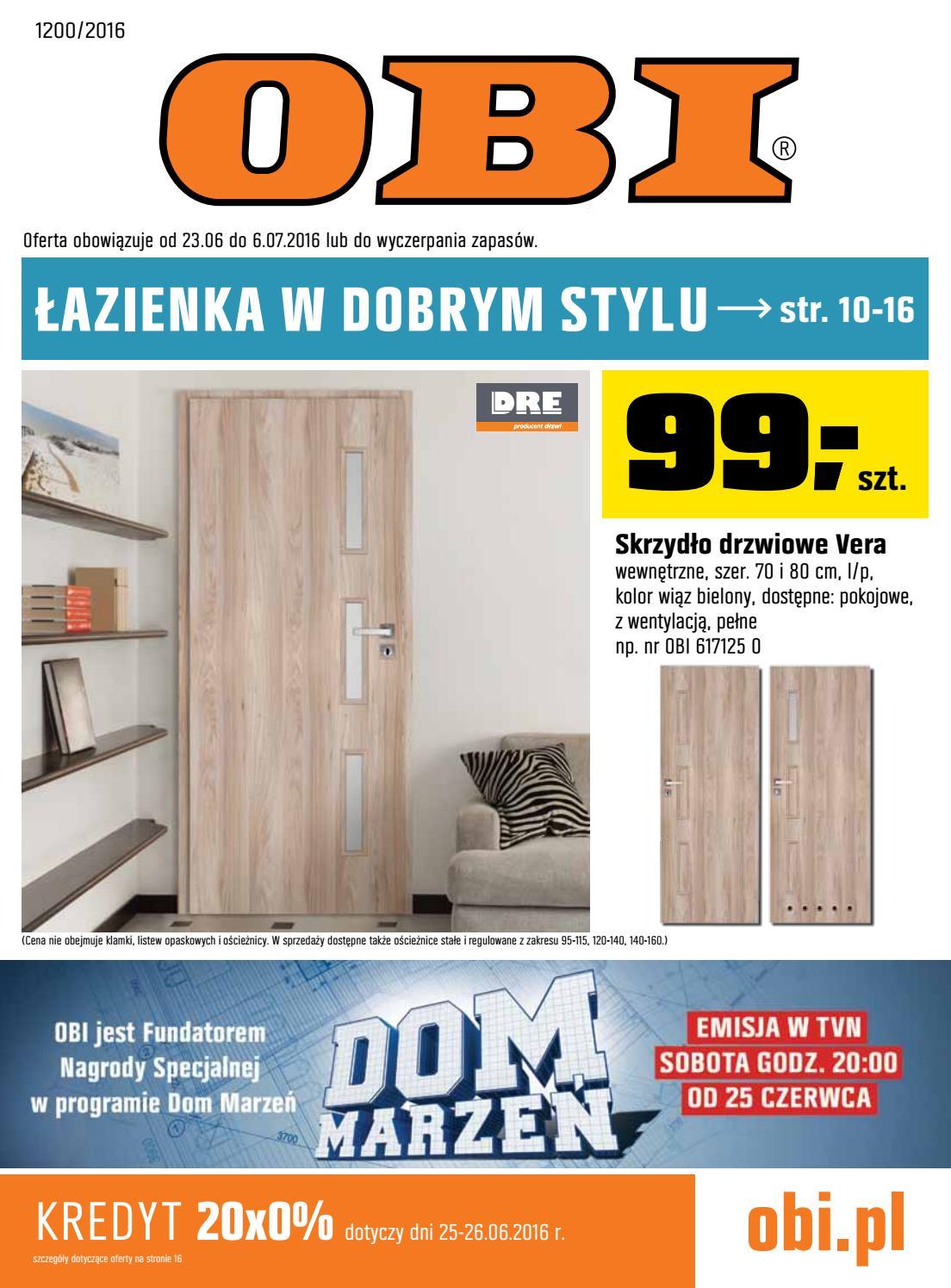 Obi Gazetka Od 2306 Do 06072016 By Iulotkapl Issuu