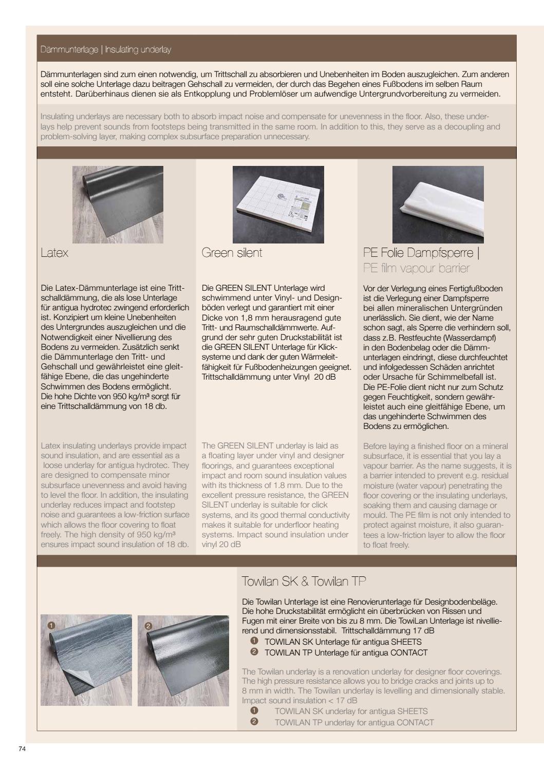 vinylboden kwg antigua prospekt tomwood ag by tomwood ag. Black Bedroom Furniture Sets. Home Design Ideas