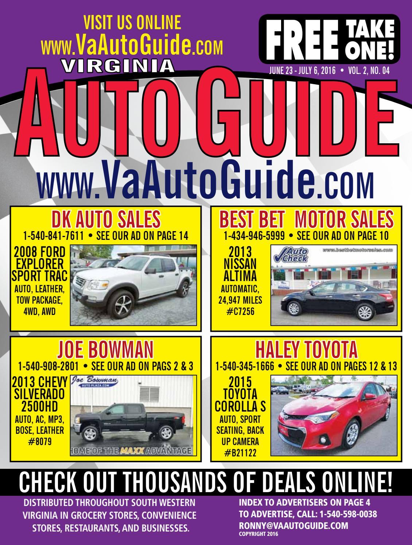 Dk Auto Sales >> Va Auto Guide 02 04 Webres By Va Auto Guide Issuu