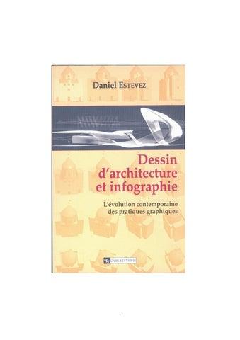 Livre Dessin D Architecture Et Infographie 2001 By Daniel