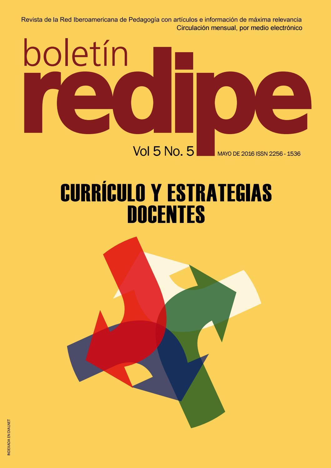 Boletin Redipe Vol5 Ed5 by REDIPE - issuu