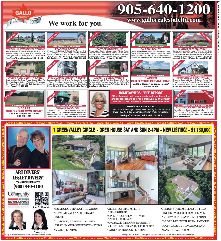 Stouffville Sun June 23 2016 By Tribune