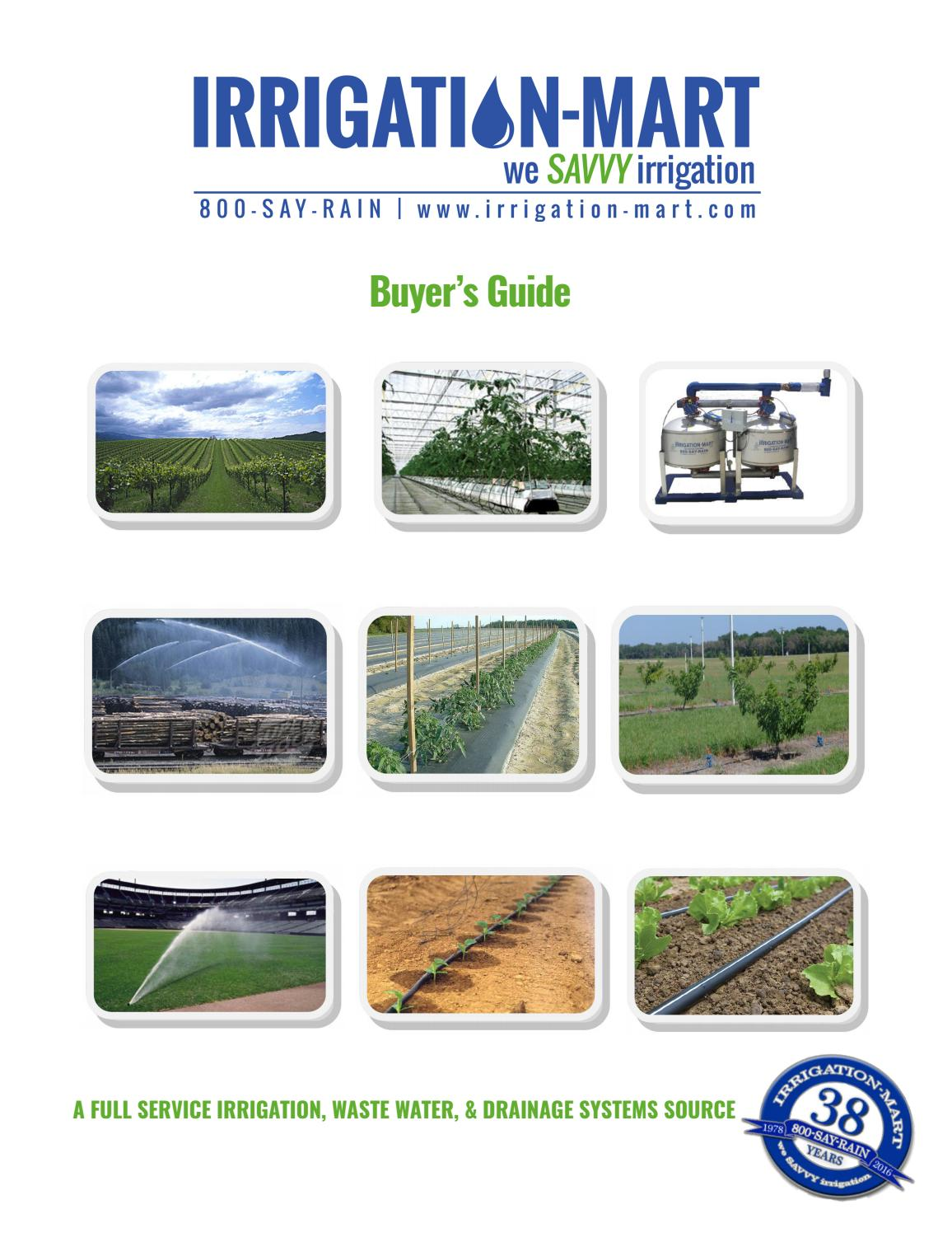Irrigation-Mart Buyers Guide by Irrigation-Mart - issuu