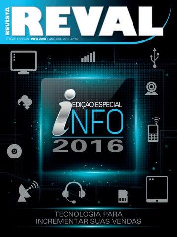 b14fe2e03e Revista Reval Info+ 2016 by Reval Atacado de Papelaria Ltda. - issuu