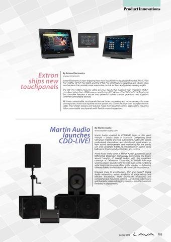 Extron TLP Pro 521M Touchpanel Treiber Windows XP