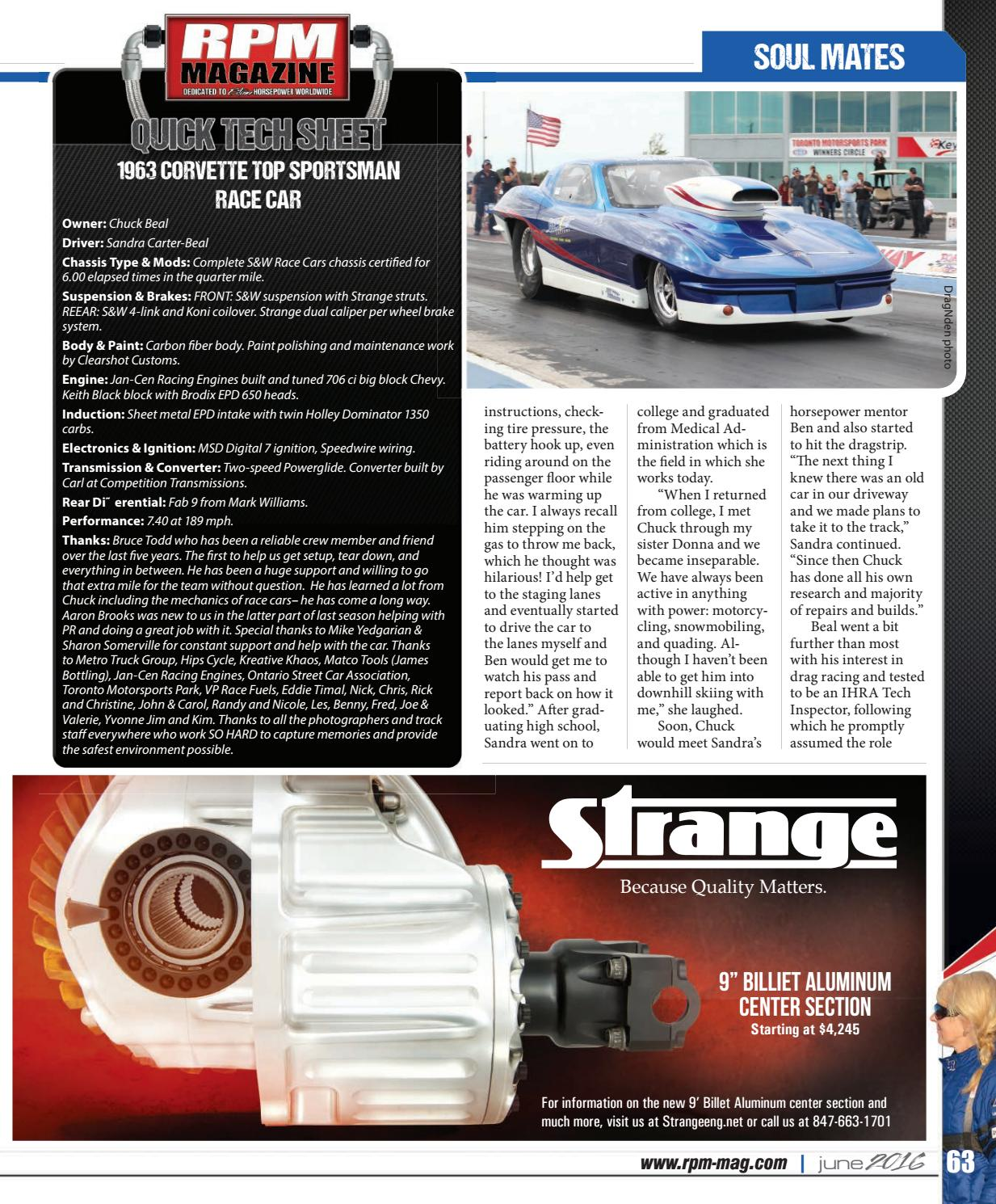 Rpm Magazine June 2016 By Issuu Speed Wire Race Car Wiring
