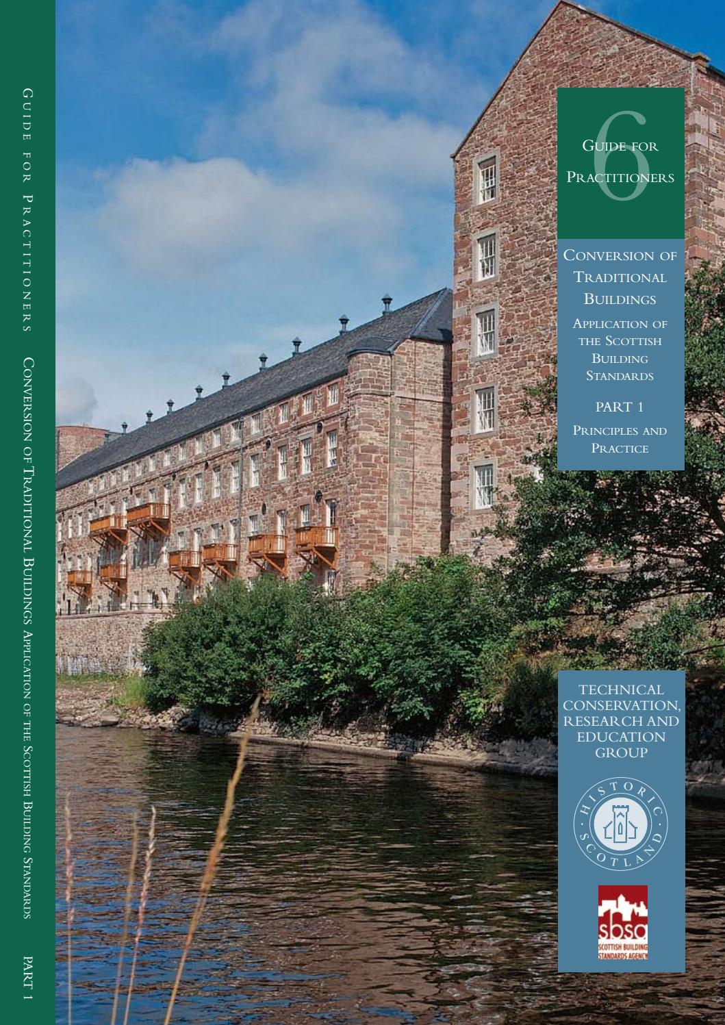 Guide for Practitioners 6 - Conversion of Traditional Buildings - Part 1 by  Historic Environment Scotland - issuu