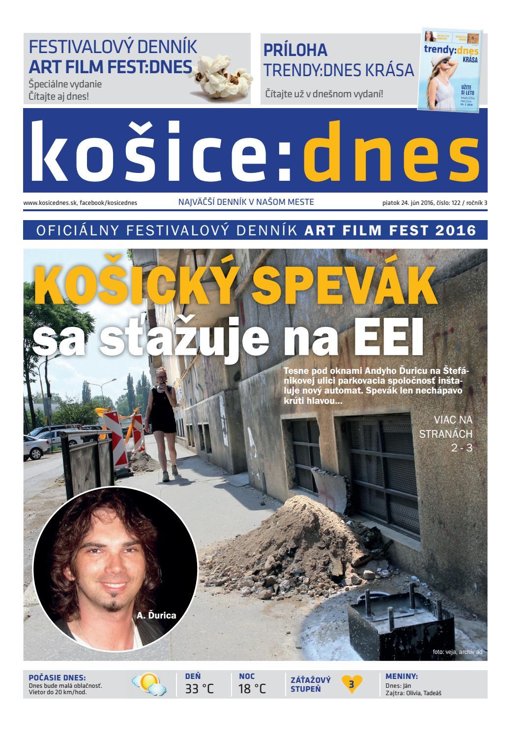 košice dnes 24.6.2016 by KOŠICE DNES - issuu e02e56c4e93
