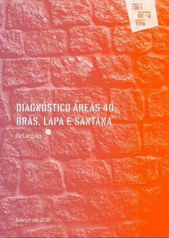 497947e55 Concurso Áreas 40 - Diagnóstico Brás, Lapa e Santana by Cidade Ativa ...