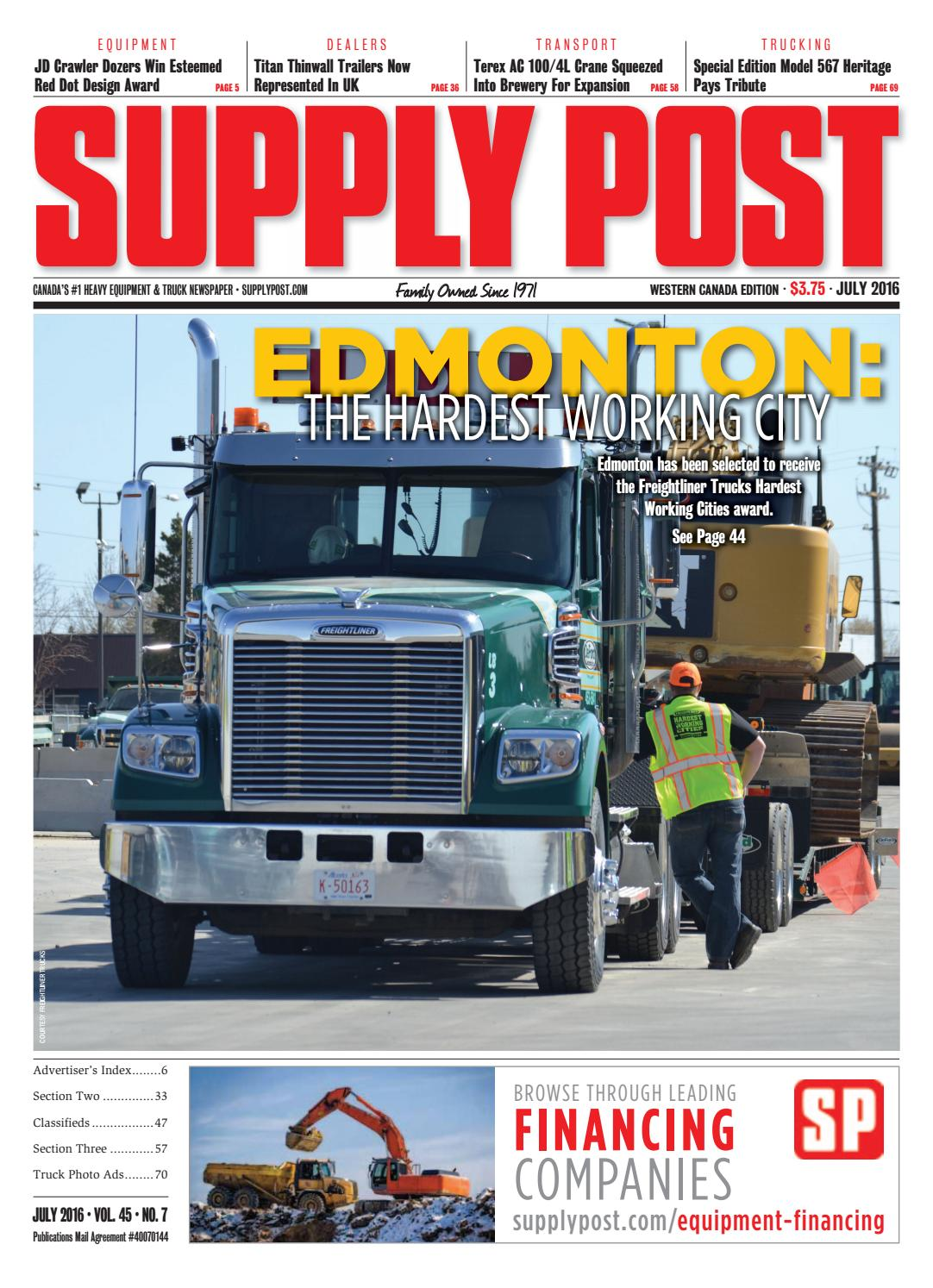 Supply Post West July 2016 By Newspaper Issuu John Deere 644e Wiring Harness